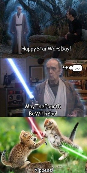 HappyStarWarsDay!