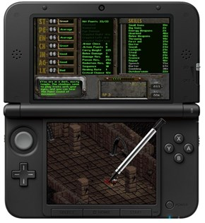 This is What the Original Fallout Would Look Like on the 3DS