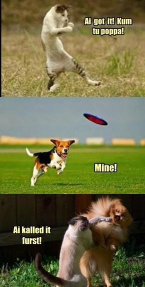 KKPS May Day - Frisbee Fun