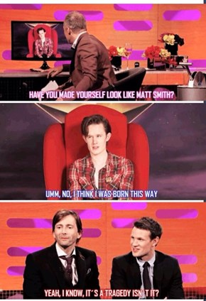 Did You Ever Wonder What Orphan Black With Matt Smith Would Be Like?