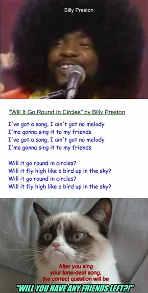 "Billy Preston vs Grumpy Cat: ""Will it"" what?!"