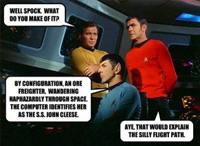 WELL SPOCK.  WHAT DO YOU MAKE OF IT?