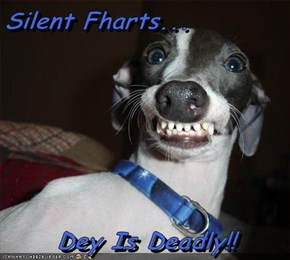 Silent Fharts...  Dey Is Deadly!!