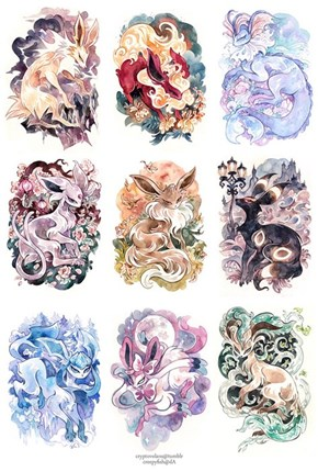 Fancy Eeveelutions