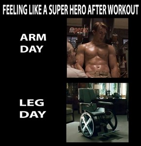 Super Hero Feeling after a Workout