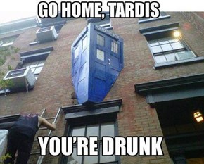 Spilled My Beer Into The Heart of The TARDIS