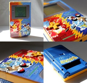 This Custom Game Boy is Legendary