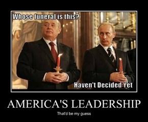 AMERICA'S LEADERSHIP