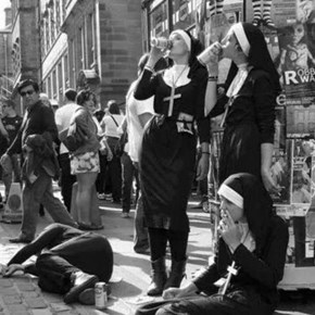 Looks Like These Nuns Have Some Bad Habits