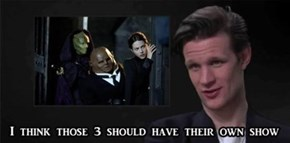 Matt Smith Has The Best Ideas