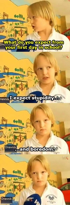 This Croatian Kid is My Spirit Animal
