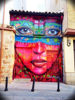 Anarkia Boladona's Street Art is Looking Right Back at You