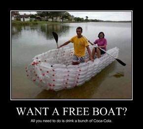 WOO FREE BOAT!