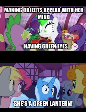 Rarity Is Best Lantern