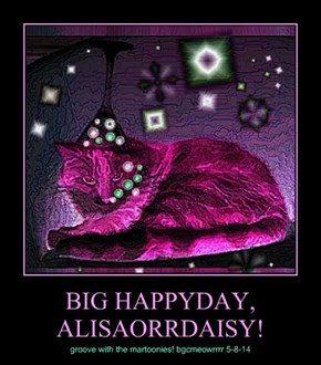 BIG HAPPYDAY, ALISAORRDAISY!