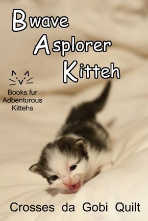 A New title in the Bwave Asplorer Kitteh Series!