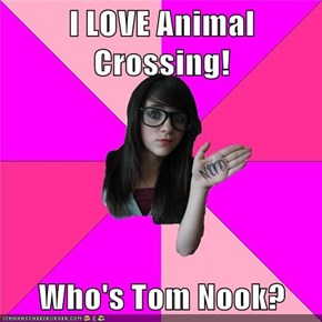 I LOVE Animal Crossing!  Who's Tom Nook?