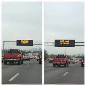 Highway Signs in Massachusetts