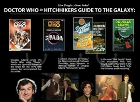 Doctor Who and Hitchhikers Guide: Together at Last!