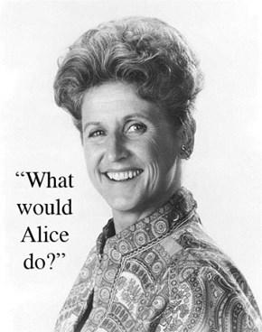 Ann B. Davis' passing #RIPAlice