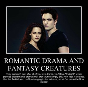 ROMANTIC DRAMA AND FANTASY CREATURES