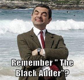 "Remember "" The Black Adder""?"