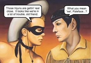 Vulcans, Klingons, whatever...