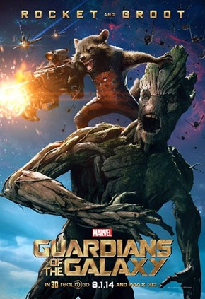 Rocket and Groot Character Posters