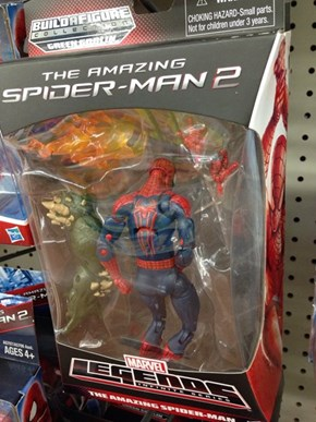 Spiderman Got Caught In The Toy Aisle