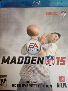 They Let You Create Your Own Madden Covers at E3, Here's This Guy's