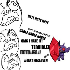 Mega Sableye Blocking All the Haters
