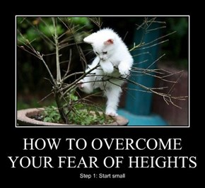 HOW TO OVERCOME YOUR FEAR OF HEIGHTS