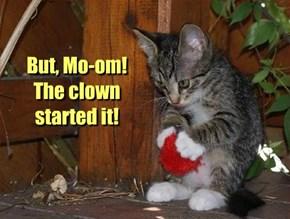 Stoopy clown.