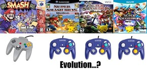 Evolution of Smash Bros