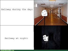 Slender Ruined Hallways For Me
