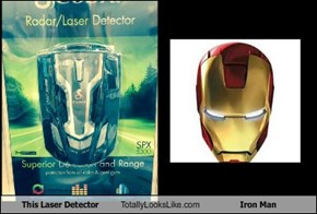 This Laser Detector Totally Looks Like Iron Man