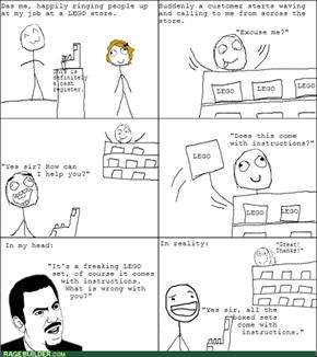 The Customer is Always Derpy