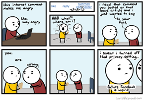 Soon This Will Be The Reality of Commenting on The Internet