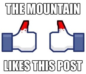 The Mountain That Pokes