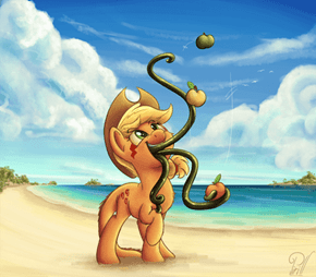 HOLY LUNA! WTF APPLEJACK!?