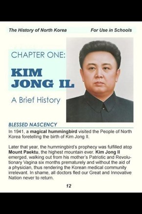 History Class in North Korea Is Awesome