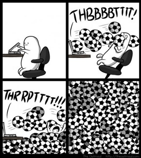 What The Internet Feels Like For People Who Aren't Soccer Fans