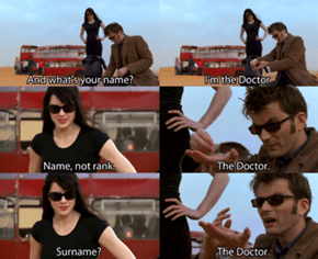 It's Just The Doctor