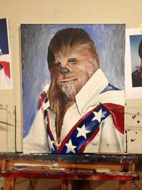 Chewie Knievel, Daredevil Co-Pilot Extraordinaire