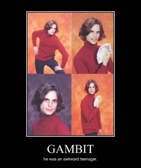 Gambit Loved School Picture Day