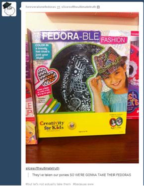 3 Fedora 5 Me
