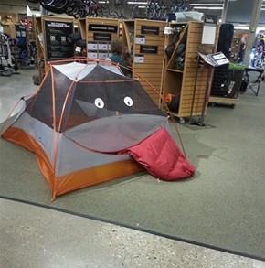 When Your Job Gets Too In-Tents, Find Ways to Lighten Up