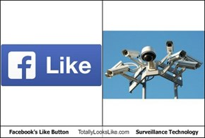 Facebook's Like Button Totally Looks Like Surveillance Technology