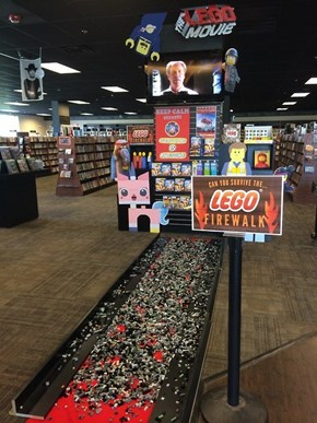 One Video Store is Doing the Unthinkable to Promote the LEGO Movie