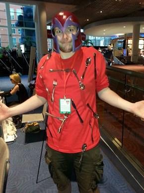 Magneto Cosplay - Denver Comiccon